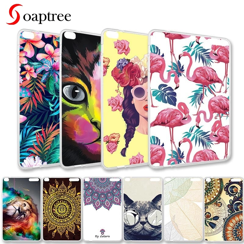 Soaptree Tablet para Huawei MediaPad T1 10 Honor nota 9,6 T1-A21W T1 10 T1-A21L T1-A23W/L 9,6 pulgadas suave TPU DIY tabletas caso