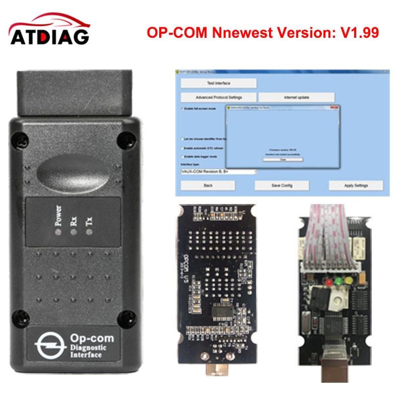 OBD2 V 1,78 V 1,95 V 1,99 firmware OP OM Für O * pel Auto Diagnose werkzeug Auto Code Reader auto Code Scanner echt pic18f458 op com