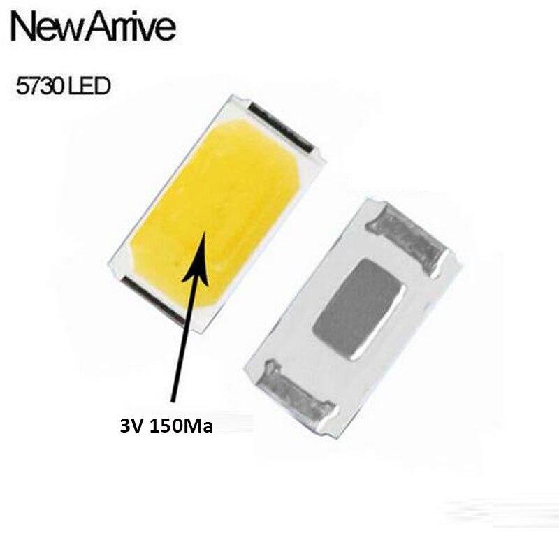 100pcs R85 Chips SMD 5730 5630 Branco Frio 6000K 0.5 W Ultra Bright 0.5 W Superfície de Montagem SMT Contas LED Light Emitting Diode Lamp