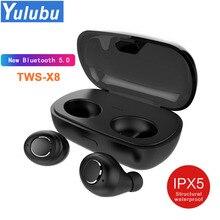 Nuevo auricular Bluetooth 5,0 TWS, auriculares inalámbricos, Auriculares deportivos, manos libres, auriculares con micrófono