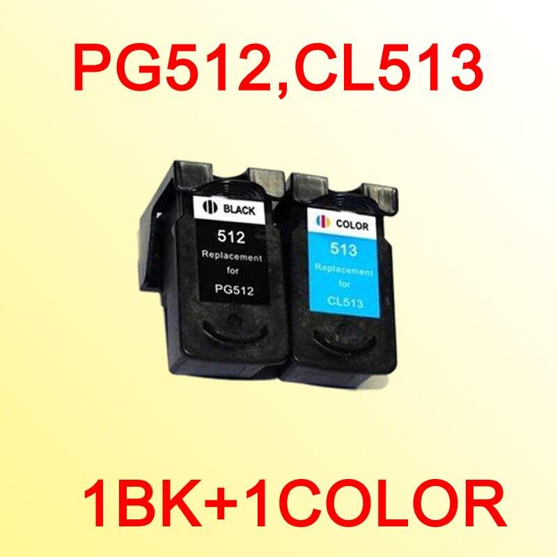 PG512 CL513 чернильный картридж совместимый для CANON PG-512 CL-513 PG512XL CL513XL PIXMA MP240/MP250/MP270/MP272/MP280/MP480