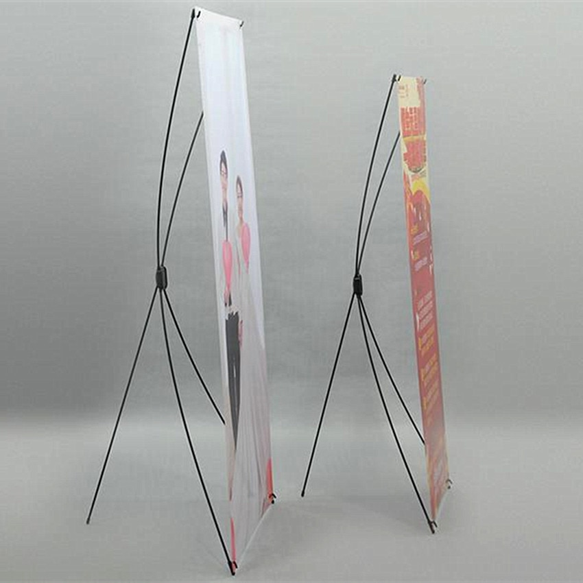 Plastic X Banner Advertising Poster Display Stands For Promotion Exhibition Trade Show Booth(Printing Excluded) Economic 10pcs