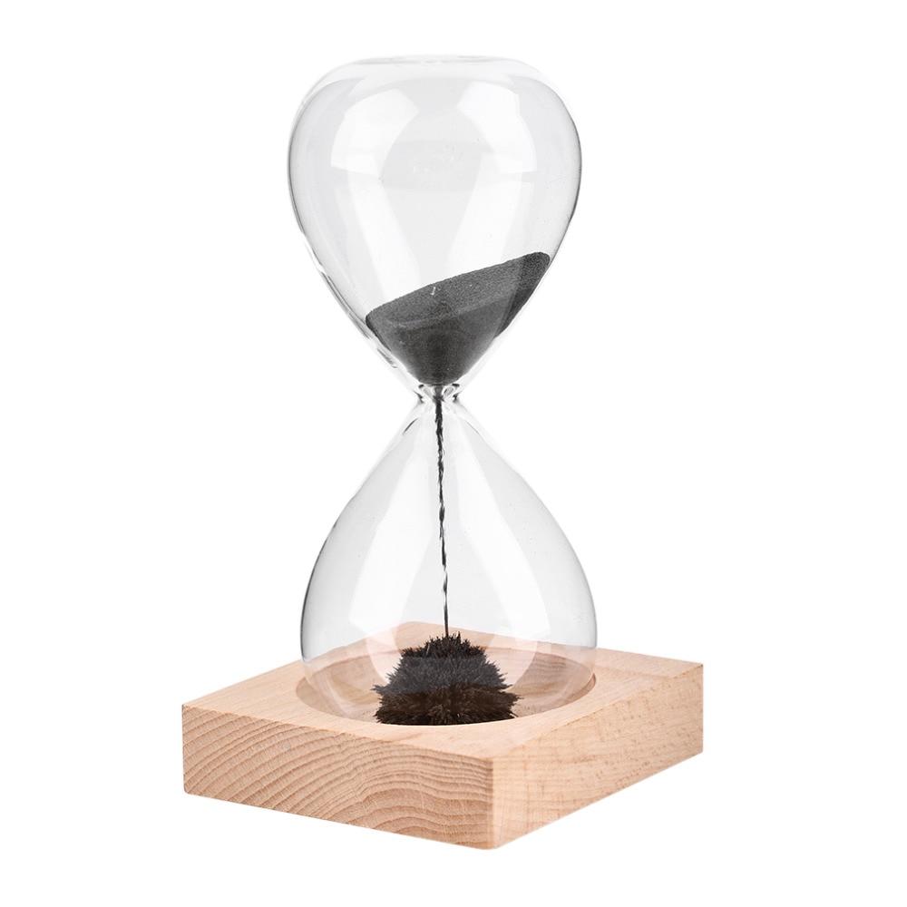 Reloj temporizador soplado a mano de imán de reloj de arena ampulheta artesanía reloj de arena temporizador de Navidad envío GRATUITO 1 piezas Awaglass