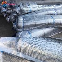 Tewango Silver color Shade Net 40%-50% UV Block Mesh Outdoor Greenhouse Insulation 2-needle Plain Weave Pest Control Mesh Net