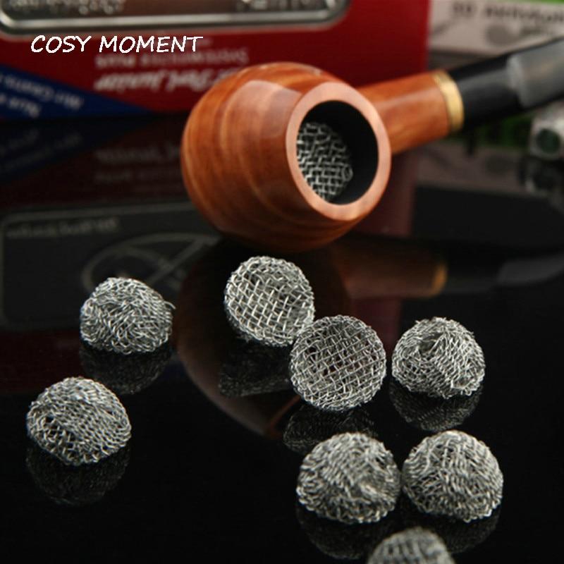 COSY MOMENT 100 шт./лот, трубка для табака, серебряный экран, многофункциональный доступ для курения, металлические фильтры, Перколятор, Leach, сетчат...