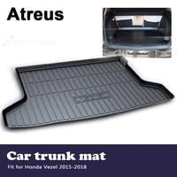 atreus car accessories waterproof anti slip trunk mat tray floor carpet pad for honda vezel 2015 2016 2017 2018