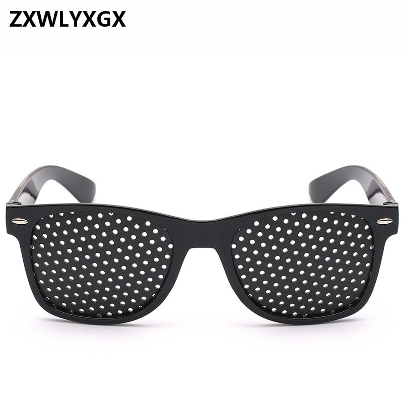 2018 novo todo o buraco seção óculos de sol marca feminina óculos de sol correção visão pequena glasse oculos de sol