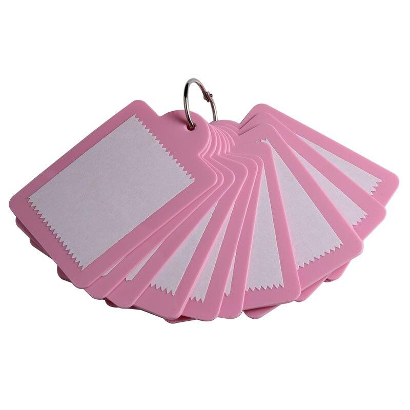 15 шт 6*8 см розовый дизайн ногтей мягкое тиснение защитная пластиковая подложка JT178