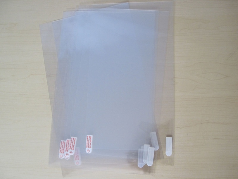 Protetor de Tela Protetora para Guia Tablet sem Varejo Limpar Filme Lenovo Yoga 2 1050 1050f 1050l 1051f 1051 10.1 Pacote 10 Pcs
