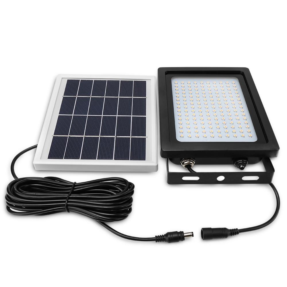 150s Светодиодный прожектор Солнечный свет 3528 SMD Солнечный светодиодный прожектор сенсор наружный сад безопасности настенный светильник 15 В...