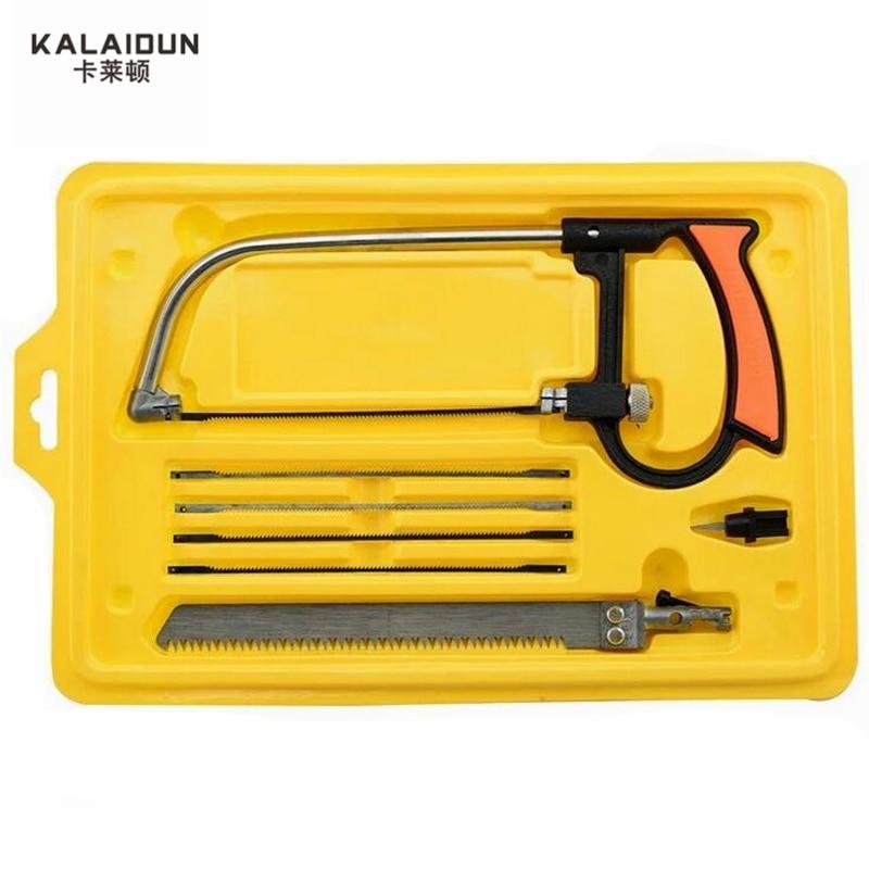 KALAIDUN 8 in 1 Multifunction Mini Saw Hacksaw  Hand Saw Magic Saw wonder Saw hand  Diy home tools kit