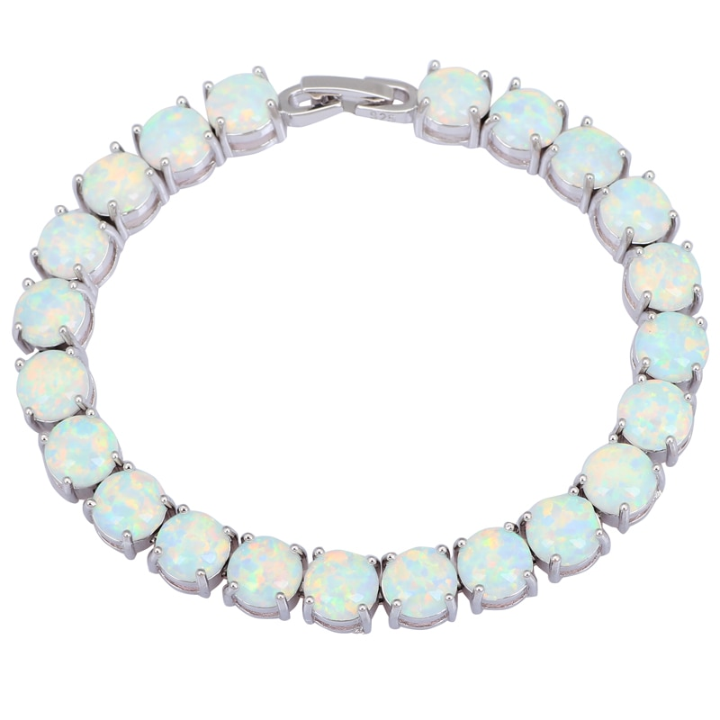 Garilina Glam Luxe misterioso Color plata marrón rojo rosa azul blanco fuego ópalo pulseras brazaletes para chicas adolescentes B3001