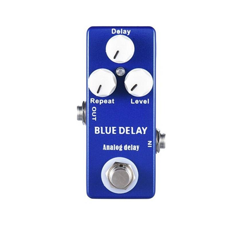 Moskyaudio Mini Guitar Effect Pedal  Overdrive, Compressor,distortion, Chorus, delay ,Reverb Pledals enlarge