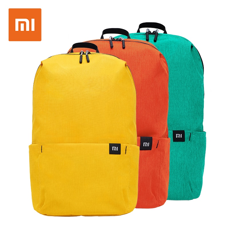 Оригинальный рюкзак Xiaomi 10L, водонепроницаемая красочная спортивная сумка на грудь для отдыха, унисекс, для мальчиков и женщин, для путешествий, кемпинга