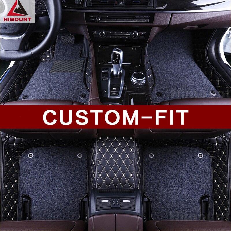 Coche personalizado alfombras de piso especialmente para Toyota Land Cruiser Prado 150, 120, 200, 4 Runner Tundra Fortuner Sienna de lujo alfombra alfombra