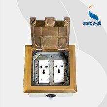 2014 Più Nuovo 146 tipo di rame Cinque fori multi-funzione open-tipo piano montato sockets (SP-14601)