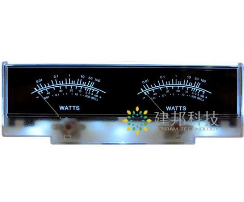 Amplificador de potência chassis painel vu medidor db nível indicador cabeçalho pico áudio diy