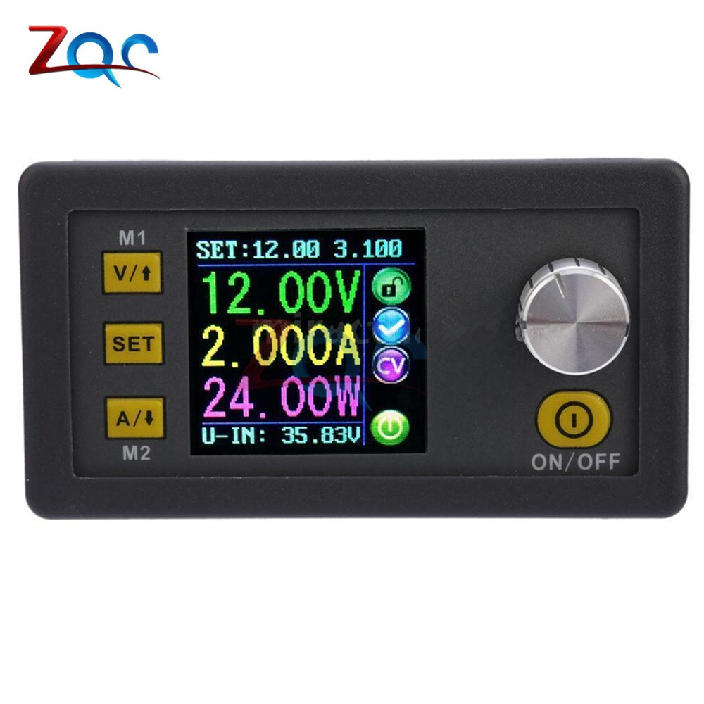 محول جهد مستمر DPS3003 0-32V 3A ، وحدة إمداد طاقة قابلة للبرمجة ، مقياس جهد LCD ملون