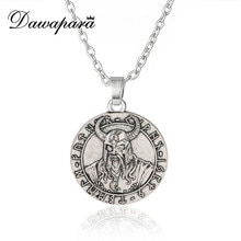 Dawapara Odin Asgard Oudere Futhark Supernatural Amulet En Talisman Rune Runic Noorse Viking Hanger Ketting Kerstcadeau