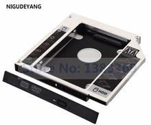 NIGUDEYANG 2nd Hard Drive HDD SSD Caddy Adapter for HP Pavilion dv6t-3100 BC-5501H BC-5541H dv6-1315sv dv6-3040st dv6t-3000 CTO
