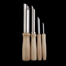 Outils de Sculpture en argile   Cercle en acier inoxydable, outils de poterie, poinçon de trou, 10 ensembles (4 pièces/ensembles)