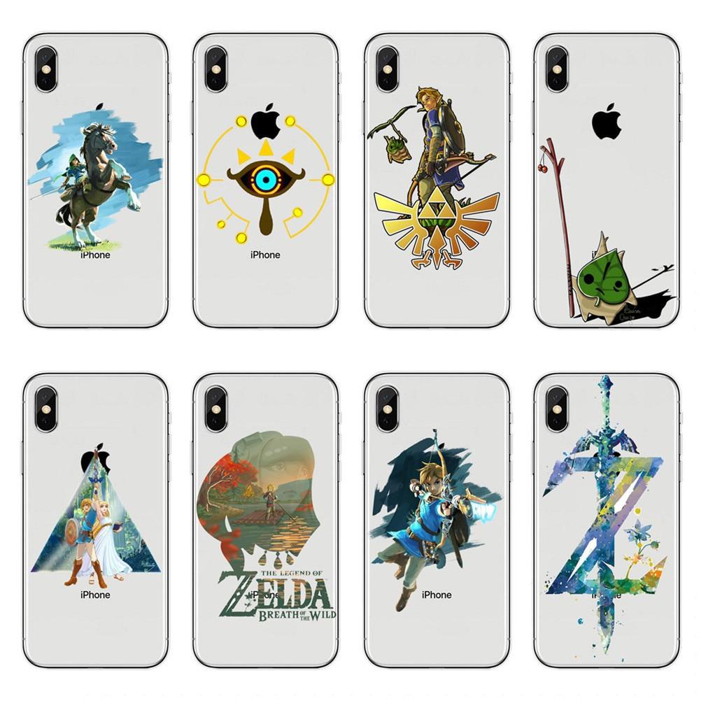 Легенда о Зельде, мягкий силиконовый чехол из ТПУ для iPhone X 10 7 8 Plus 6 6S Plus 7 8 5S SE XR XS Max