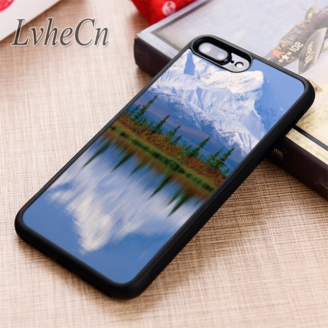 LvheCn INCREDIBLE MOUNTAIN SCENERY phone Case For iPhone 5 6 6s 7 8 plus X XR XS max 11 12 Pro Samsung Galaxy S7edge S8 S9 S10
