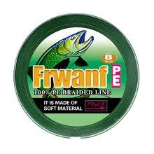 Frwanf x8 300 M 347 yards 8 brins tressé ligne de pêche Multifilament PE 130 150 200 250 300LBS 0.68mm 0.80mm 1.00mm pêche sur glace