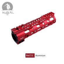 7 9 12 Inch M-LOK Handguard Free Float Super Slim Ar 15 Handguard Rail MLOK Handguard  Rail for M4 M16