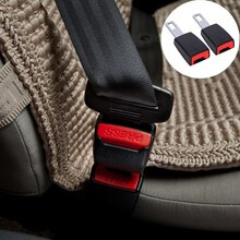 1pcs Universal Car Safety Belt Clip Extender Auto Accessories for Land Rover LR4 LR3 LR2 Range Rover Evoque Defender Discovery