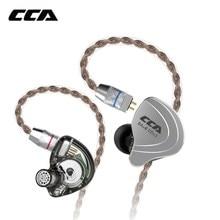 CCA C10 4BA + 1DD Hybrid In Ohr Kopfhörer Hifi Dj Monito Laufsport Kopfhörer Kabel 10 Stick Einheit Headset noise Cancelling