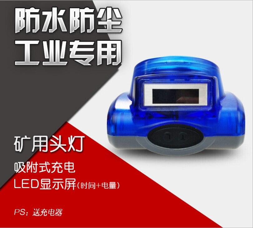 Waterproof IP68 6200mAH 3W Battery Capacity Explosion-Proof 15000LX Mining Cap Lamp searchlight enlarge