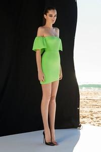 Женское зеленое элегантное платье с вырезом лодочкой и коротким рукавом, вечернее облегающее платье знаменитости, 2019