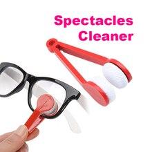 2017 Fashion Zon Bril Cleaner Lenzenvloeistof Microfiber Brillen Cleaner (Willekeurige Kleur) H9