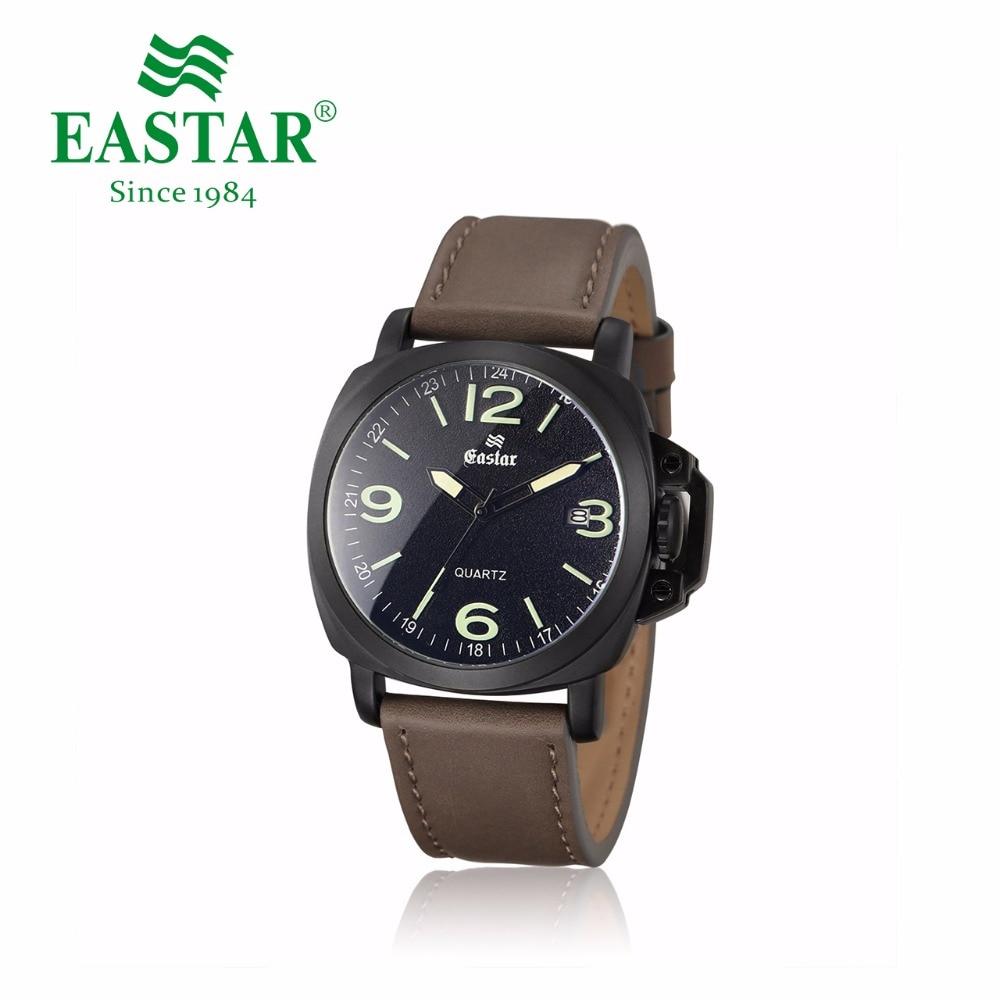 Eastar Fashion Male Watch Sport Red And Green Strap Ladies Dress Quartz Wristwatch Luxury Date Stainless Steel Case Clock