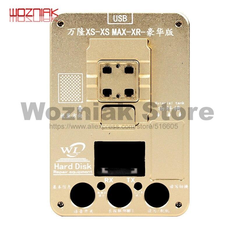 WL último programador para XR/Xs Max NAND Disco Duro CHIP IC programador expansión capacidad desacoplamiento WIFI Bluetooth