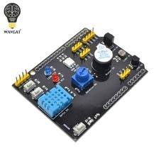Carte dextension multifonction WAVGAT DHT11 LM35 humidité de la température pour Arduino UNO RGB LED capteur de sonnerie récepteur IR
