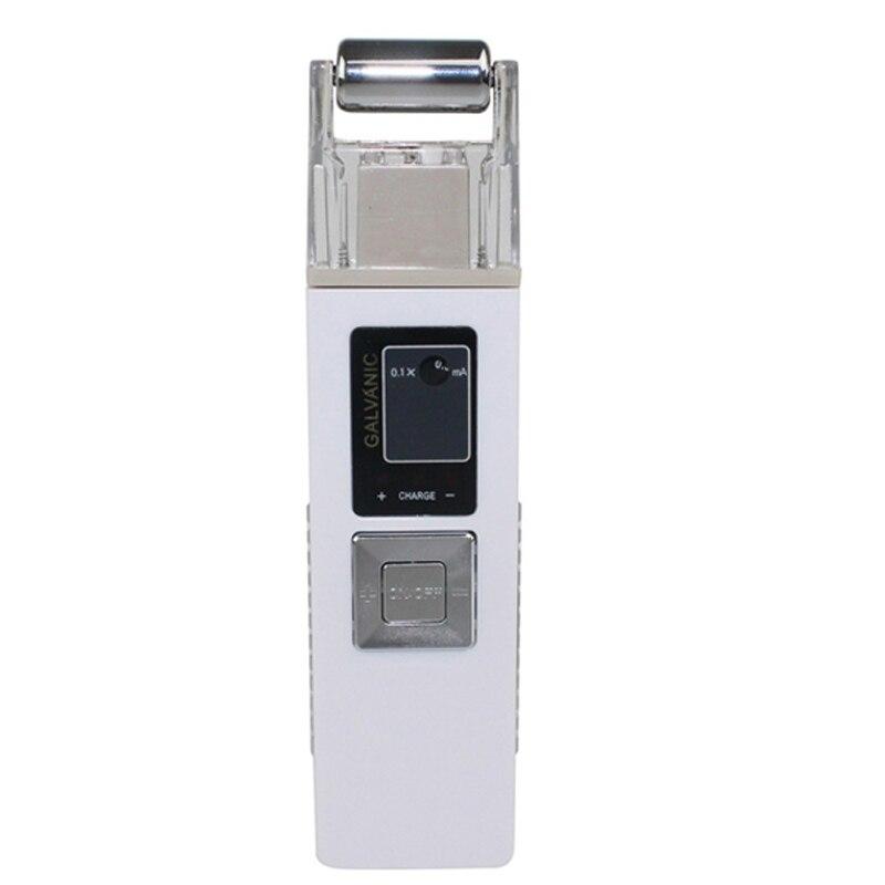 Portátil Máquina de Endurecimento Da Pele Anti-envelhecimento Face Lift Microcorrente Galvânica Massageador Anti-rugas Dispositivo de Elevação para o Rosto