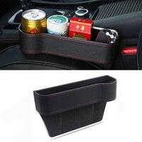 Storage Box Car Organizer Seat Gap PU Leather Case Pocket For BMW m3 m5 e46 e39 e36 e90 e60 f30 e30 e34 f10 e53 f20 e87 x3 x5