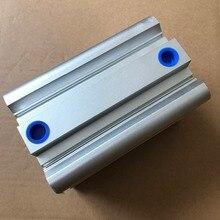 bore 125mm x10mm stroke Compact CQ2B Series Compact Aluminum Alloy Pneumatic Cylinder