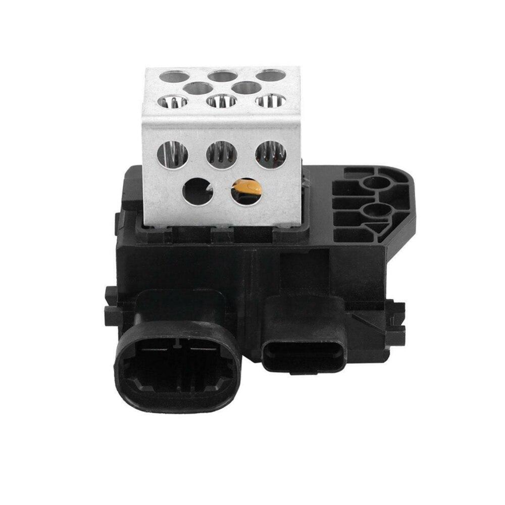 Aluminum ABS Car Smart Sense Radiator Fan Relay Resistor for Citroen C4/ C4 Picasso/ Berlingo 9673999980 High Quality