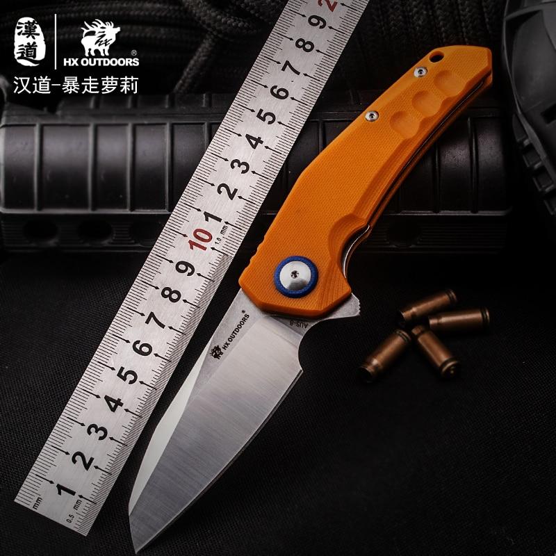 HX складной нож Лолиты для выживания охоты карманный повседневного
