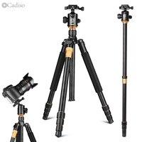Cadiso Q999 מקצועי מצלמה נייד תיירות חצובה עבור SLR מצלמה חצובה חדרגל Stand כדור ראש חדרגל עבור SLR מצלמה