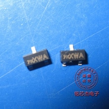 100PCS 2N7002K 2N7002 mark 7K smd transistor 2N7002K-T1 transistor mosfet nuovo originale di trasporto libero kit fai da te