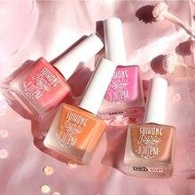 Jus liquide Blush cosmétiques fard à joues Gel crème Rouge 4 couleurs Blush liquide maquillage vernis à ongles forme