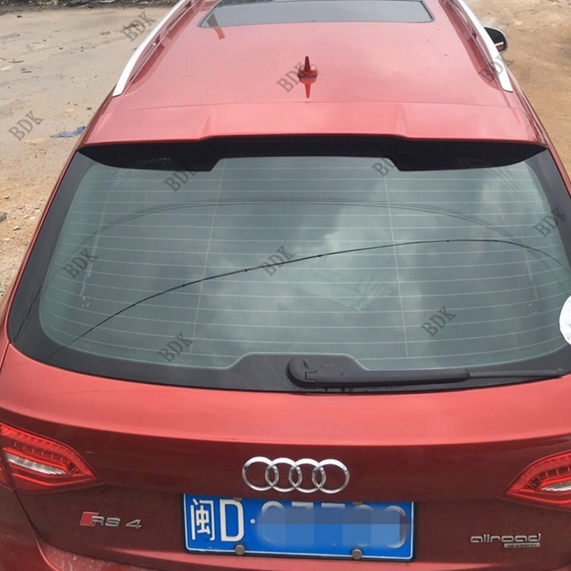 Автомобильные аксессуары полиуретановая крыша спойлер подходит для 2009-2013 A4 allroad B8 Avent RS4 дизайн стиль крыша спойлер