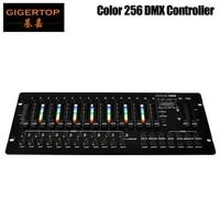 gigertop tp d1360 color 256 console stage light controller dmx5121990 standard 192 computer light build in program color effect