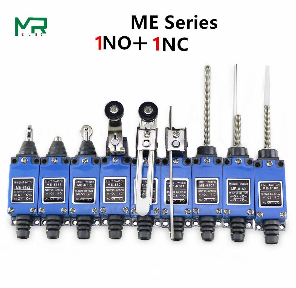 ME-8108 8104 8107 8169 8166 8111 9101 limit switch Rotary Adjustable Roller Lever Arm Mini Limit Switch series chint travel switch yblx jw2 11z 3 limit switch
