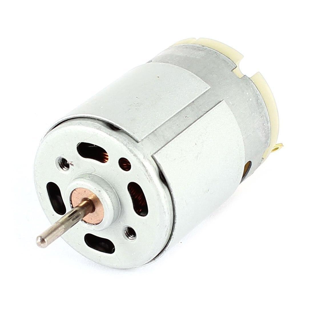 CNIM caliente RS380 DC 1,5-18V 30000 Micro Motor RPM 38x28mm para el modelo de RC juguetes de plata