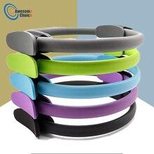 Qualité Yoga Pilates anneau magique enveloppement minceur musculation formation robuste PP + NBR matériel Yoga cercle 5 couleurs